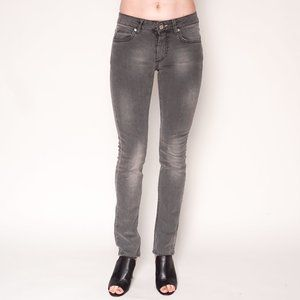 ACNE Hex Filter Faded Grey Skinny Jeans